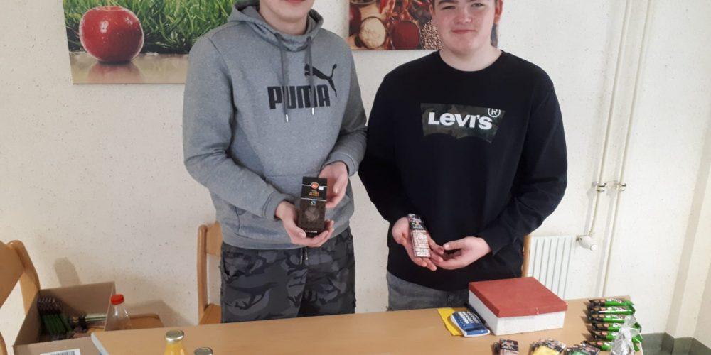 Fairtrade-Produkte an der Schule