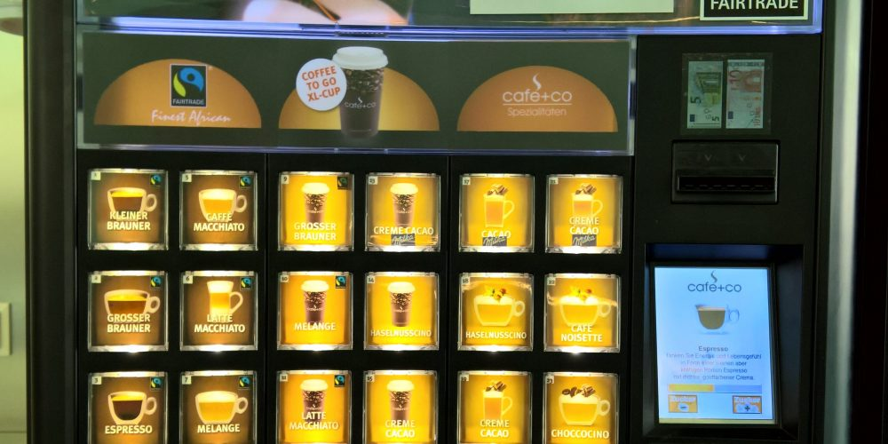 """Kaffeeautomat mit """"fairen"""" Produkten"""