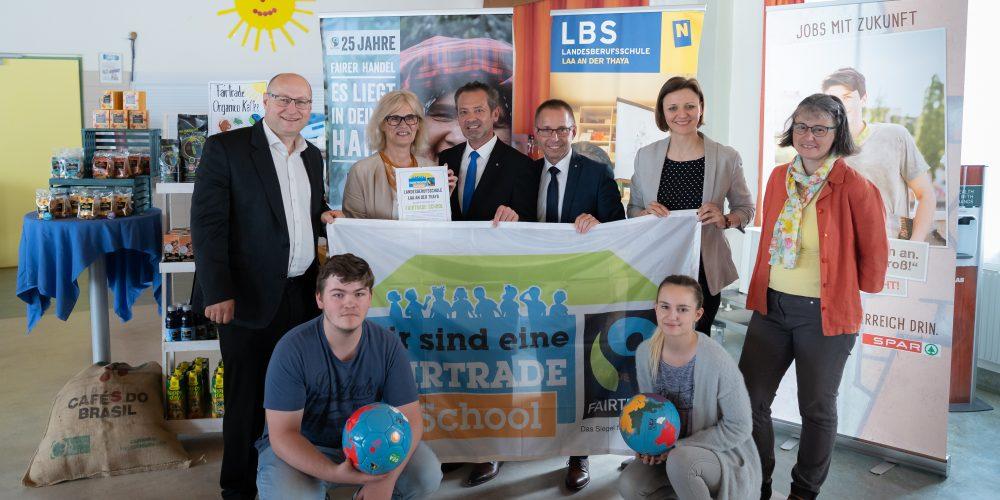 LBS Laa ist Fairtrade Schule