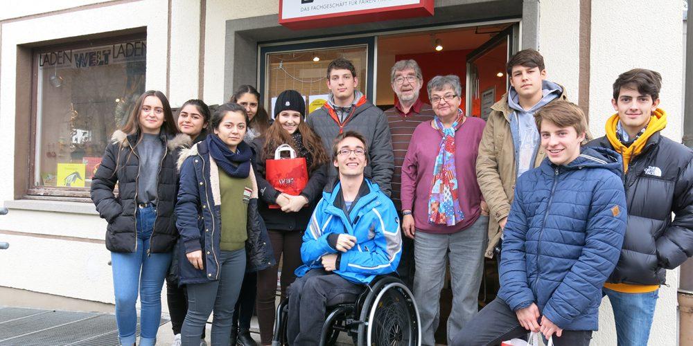 Exkursion der Öko-Gruppe in den Bregenzer Weltladen
