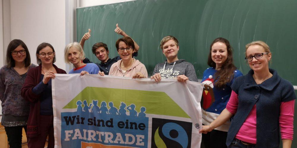 Das neue Fairtrade Team der HLW St.Veit
