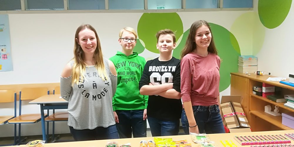 Fairtrade Fridays versüßen das Schulleben