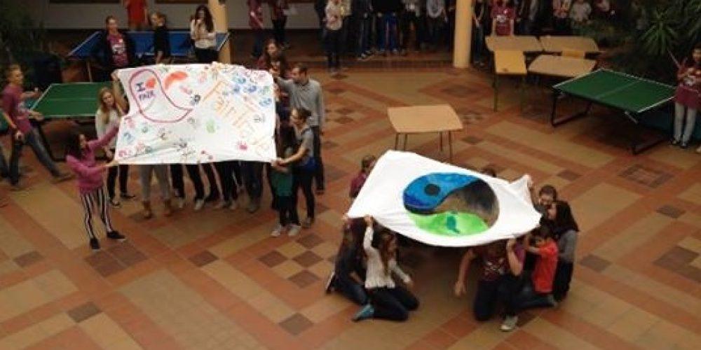 Welche Aktionen wir zum Thema Fair Trade gemacht haben…