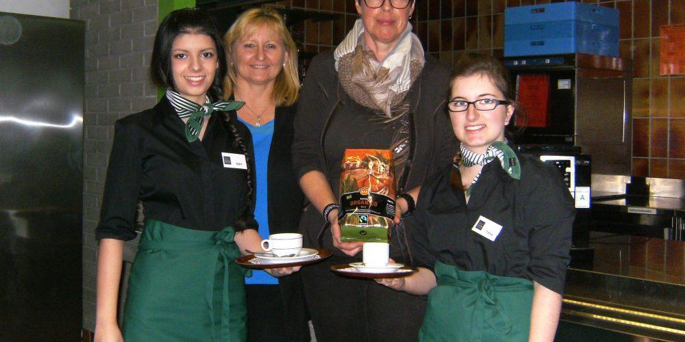 Fairer Kaffeegenuss in der HBLW landwied