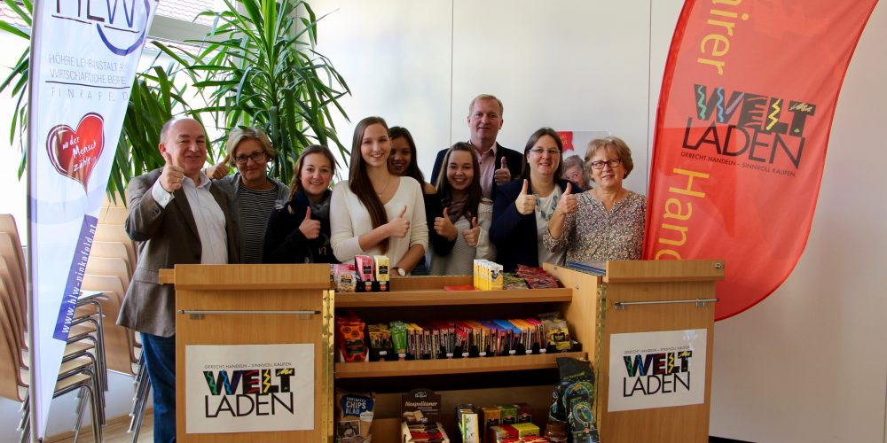 Jetzt wird FAIRkauft! – Start des Fairtrade Point an der HLW Pinkafeld