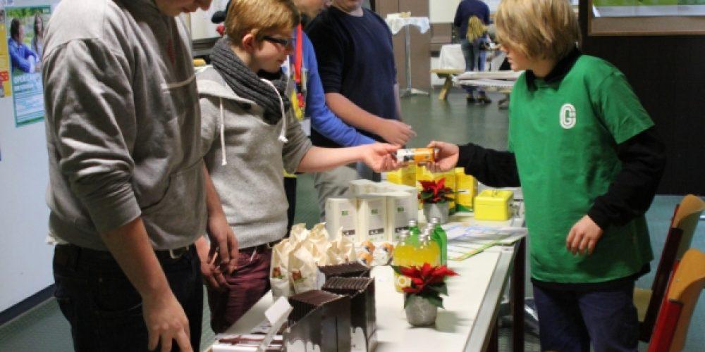 Blick über den Tellerrand: FAIRTRADE am Elternsprechtag einer deutschen Schule
