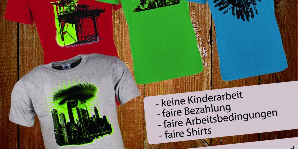 Faire T-Shirts von Projektguppe der BHAK Bregenz