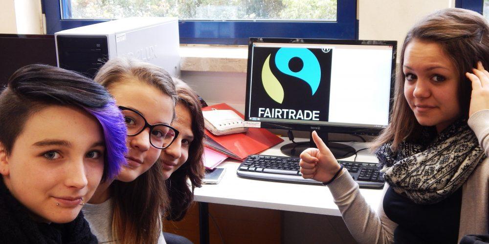 HLWFohnsdorf :Vorbereitungen für den Fair Trade-Aktionstag