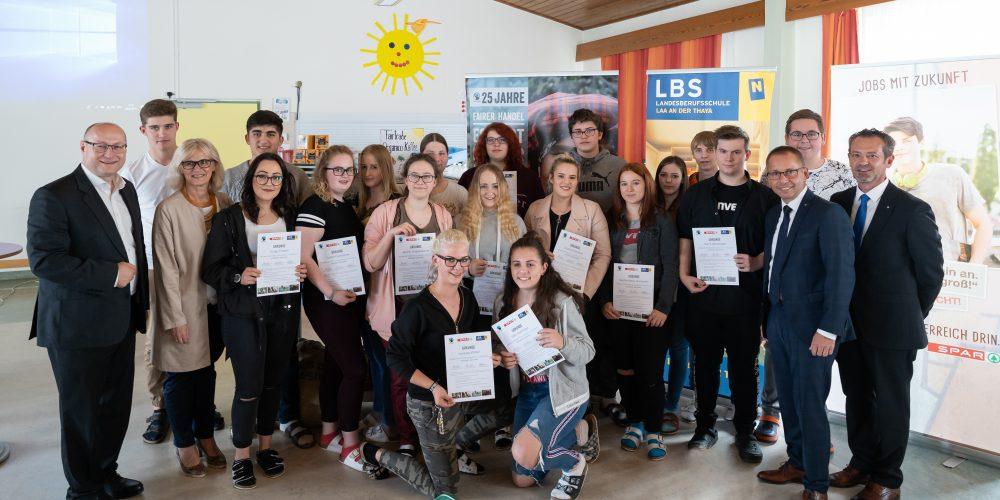 SPAR Lehrlinge sind Fairtrade Botschafter