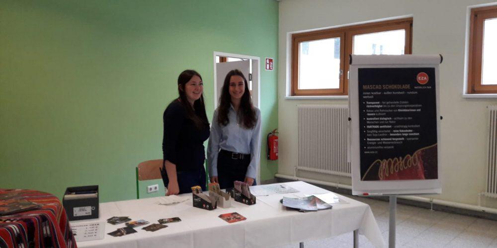 Fairtrade-Schoki an unserer Schule