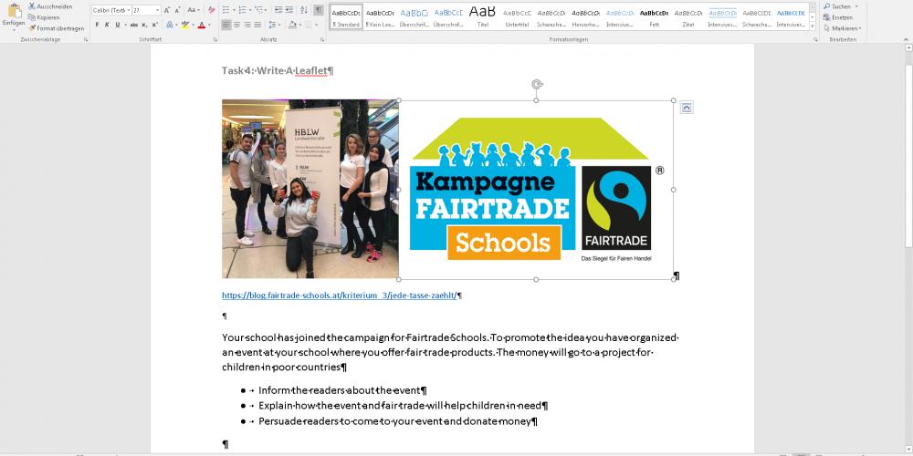Nachlese: Fairtrade im Englischunterricht