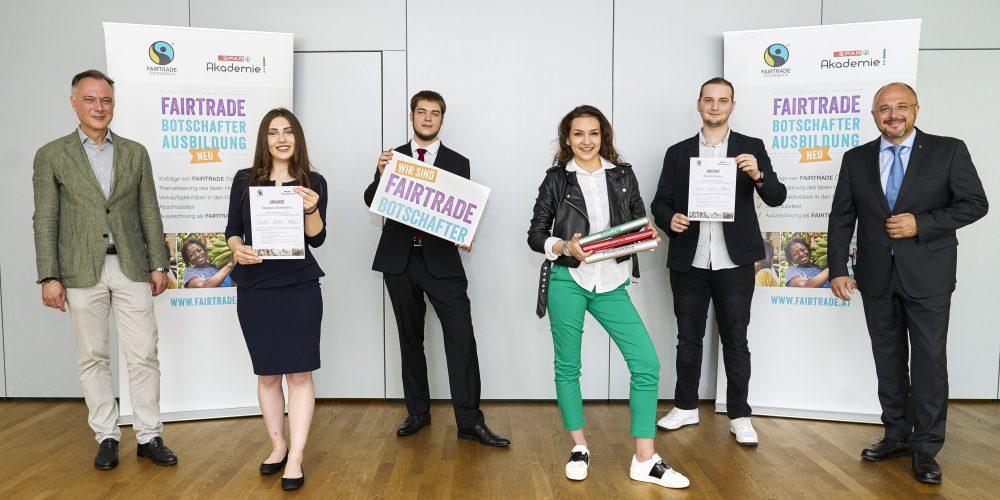 Geschafft! 128 Spar-Lehrlinge zu FAIRTRADE-Botschafter*innen 2020 zertifiziert