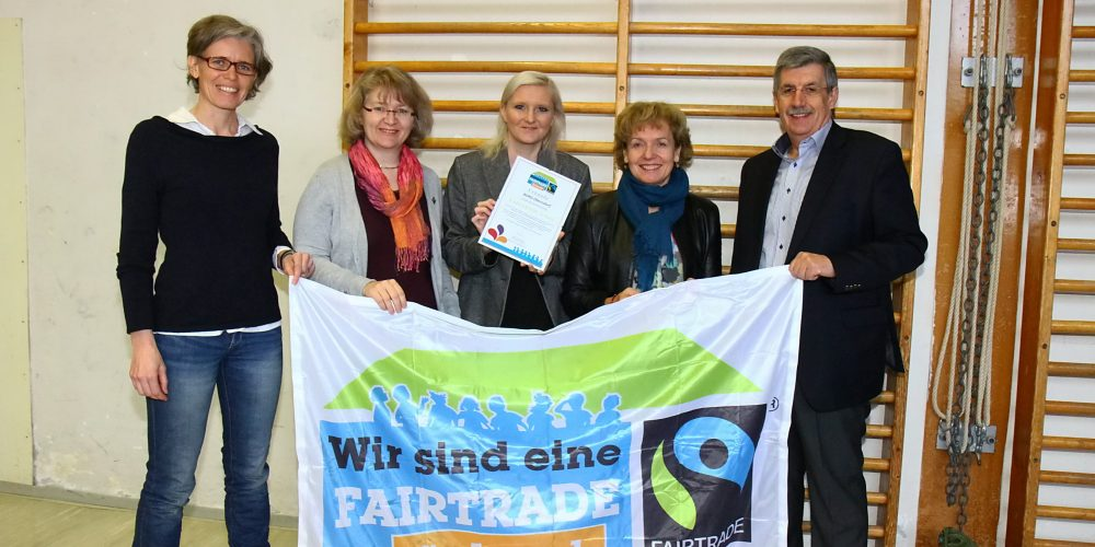 BORG Oberndorf ist FAIRTRADE-Schule
