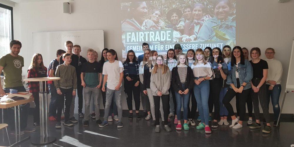 Fairtrade Workshop in den 1. HAK plus-Klassen