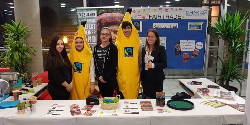 Implementierung von Fairtrade-Produkten an der BHAK Korneuburg