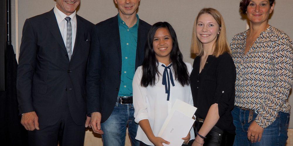 Zukunftspreis 2016/17 der Stadt Bregenz für die Fairtrade School HLW Marienberg!