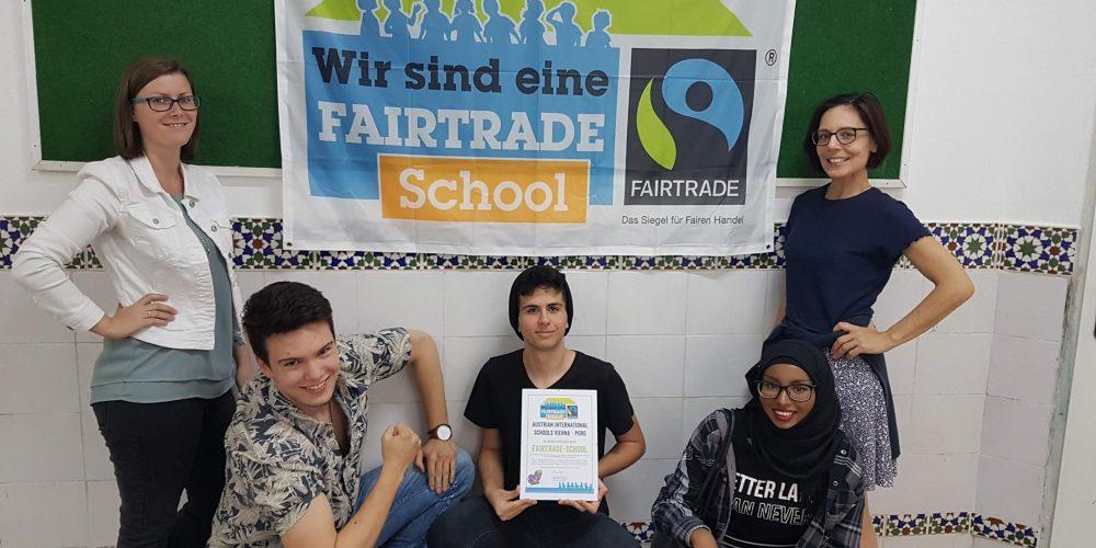 Wir sind eine Fairtrade-Schule!