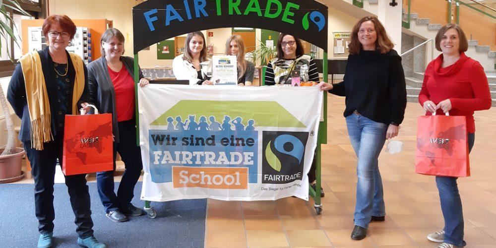 Wir sind eine Fairtrade – School!